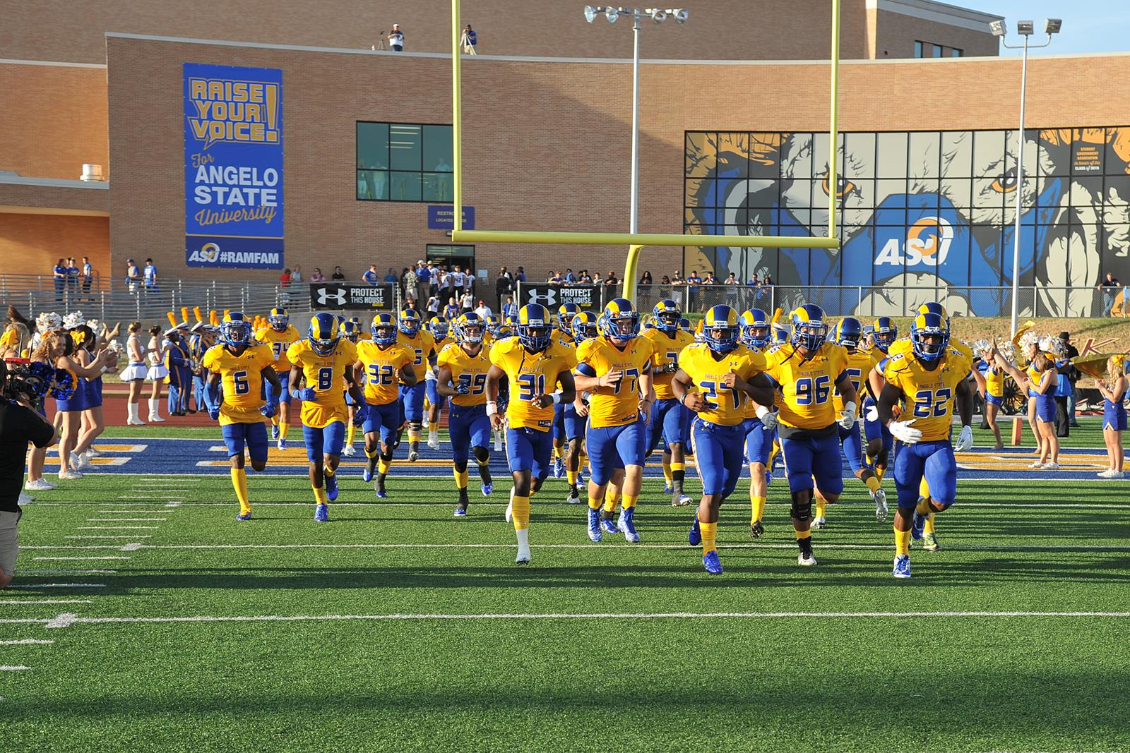 Asu Football To Host Tryout Angelo State University Athletics