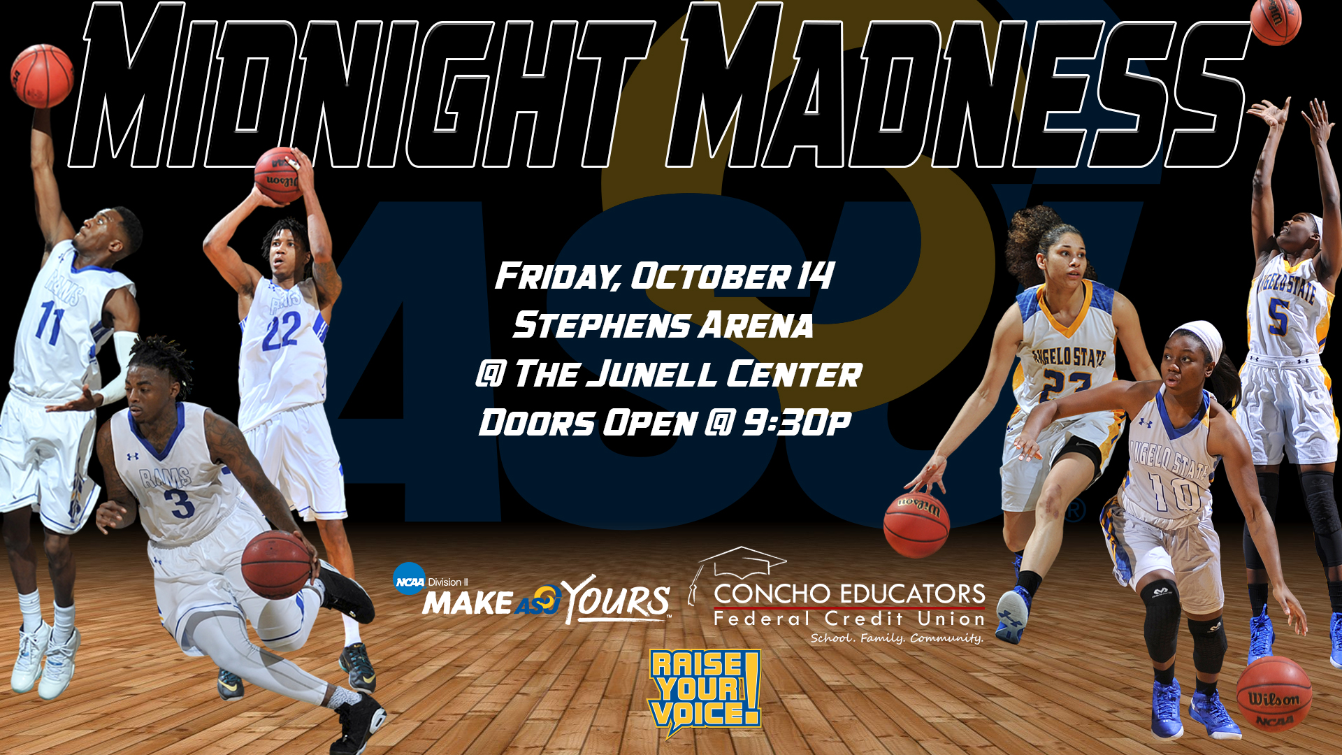Midnight Madness Scheduled For Friday Night