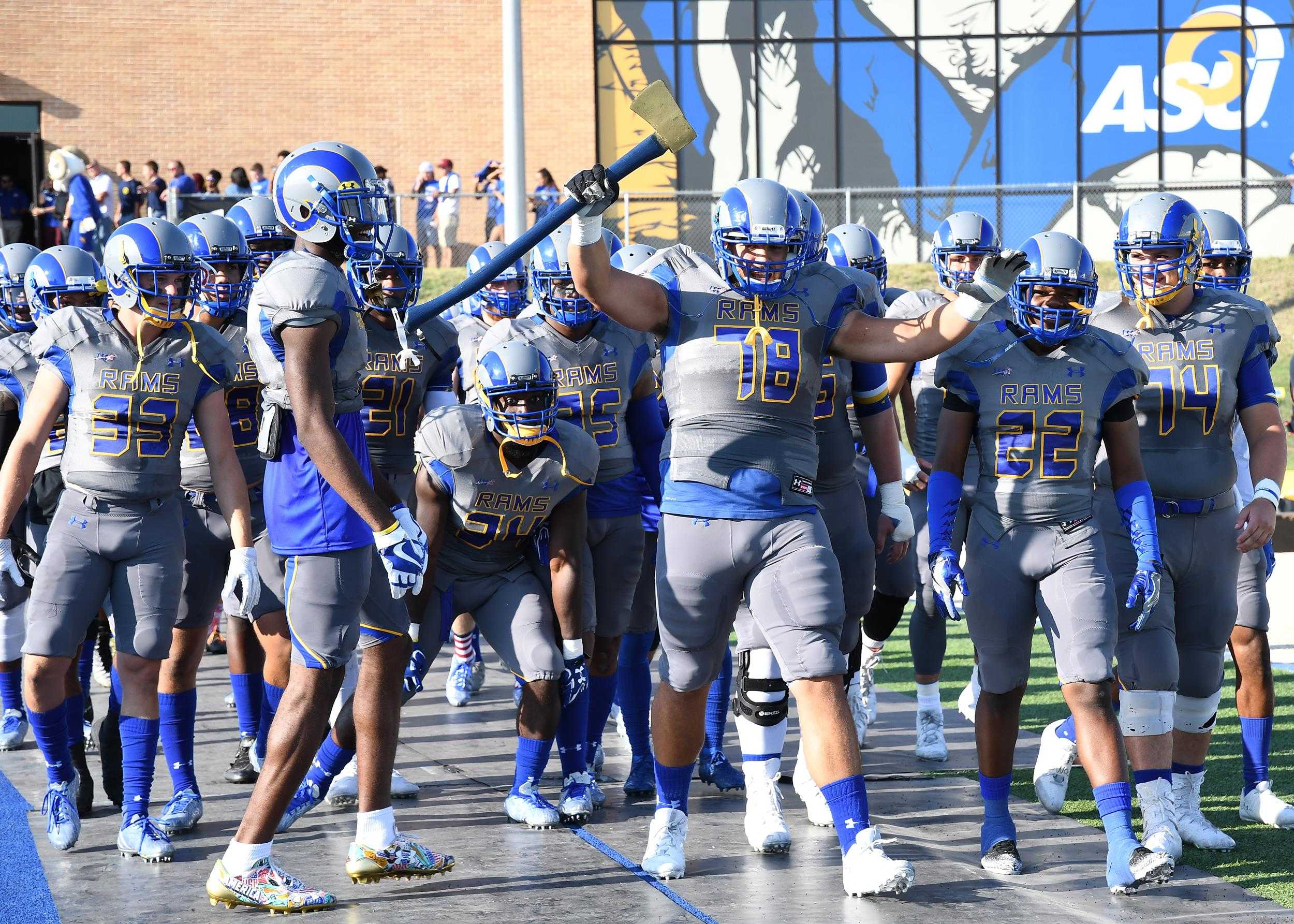 Rams Announce 2018 Football Schedule Angelo State University Athletics