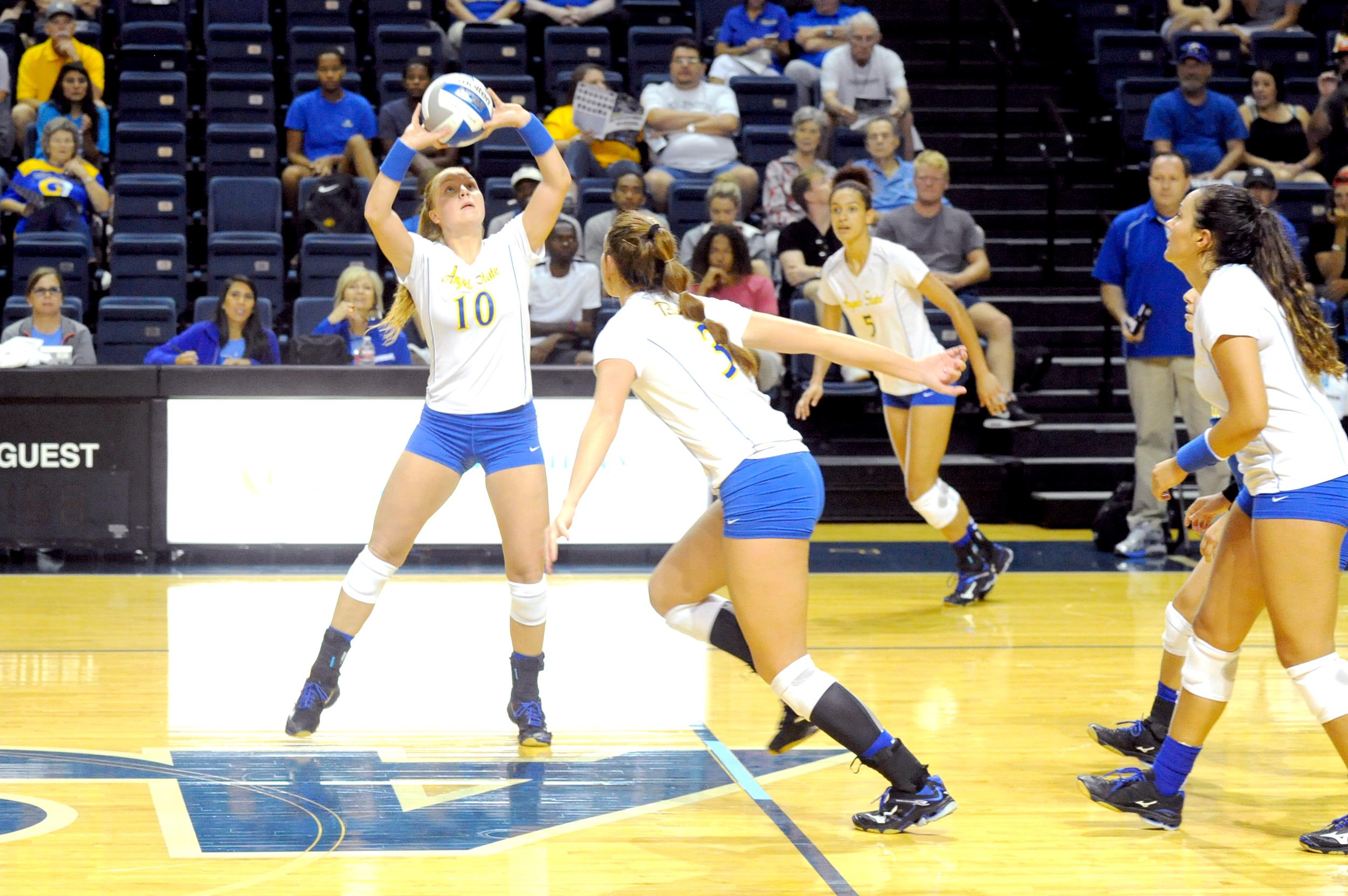 Angelo State Volleyball Announces 2018 Schedule Angelo State University Athletics